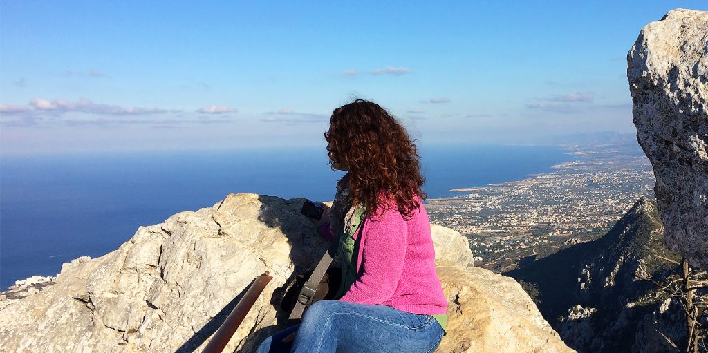 Joanne Amos, The Wandering Wordsmith in North Cyprus