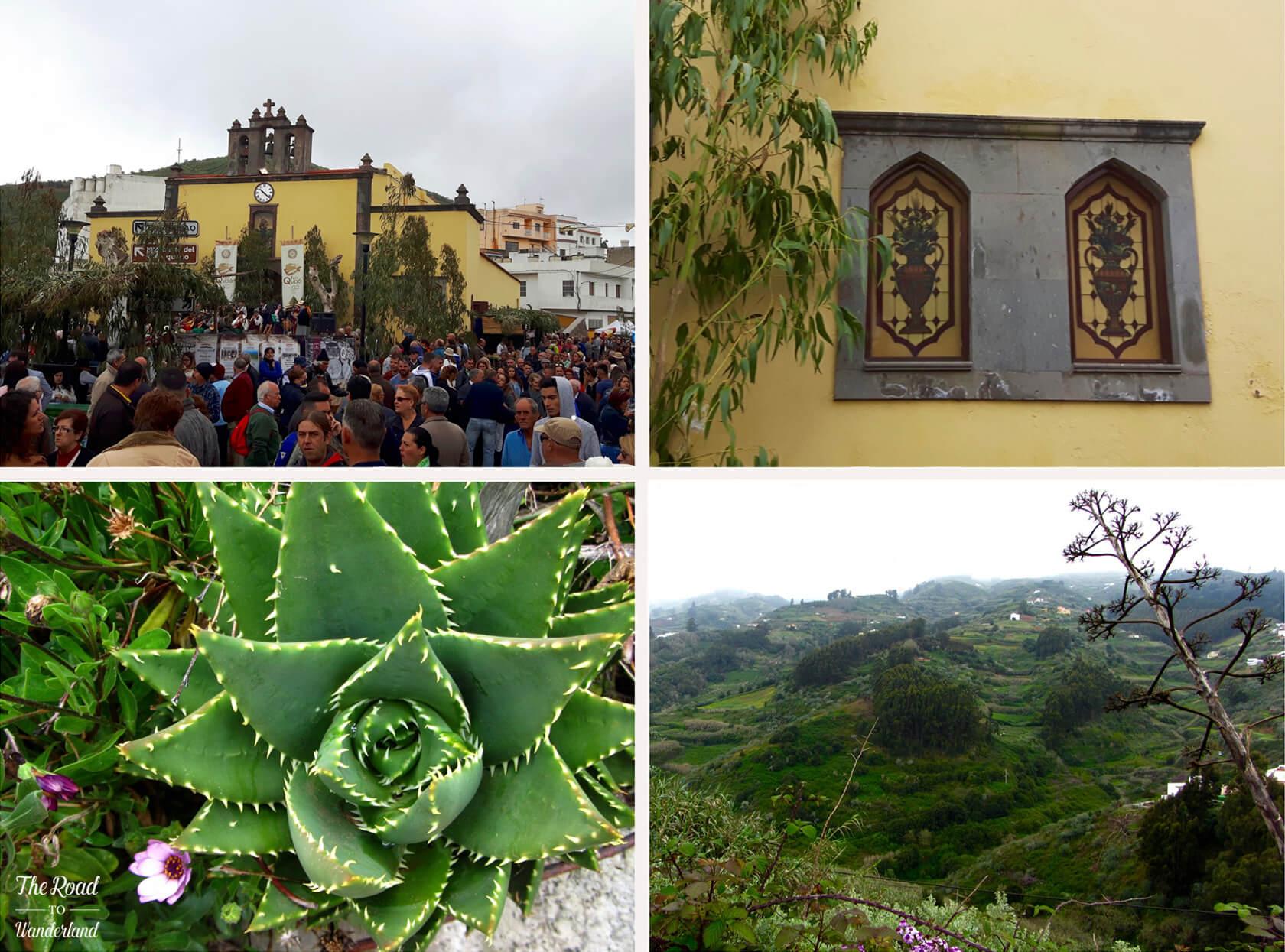 Montaña Alta de Guía: location of the cheese festival