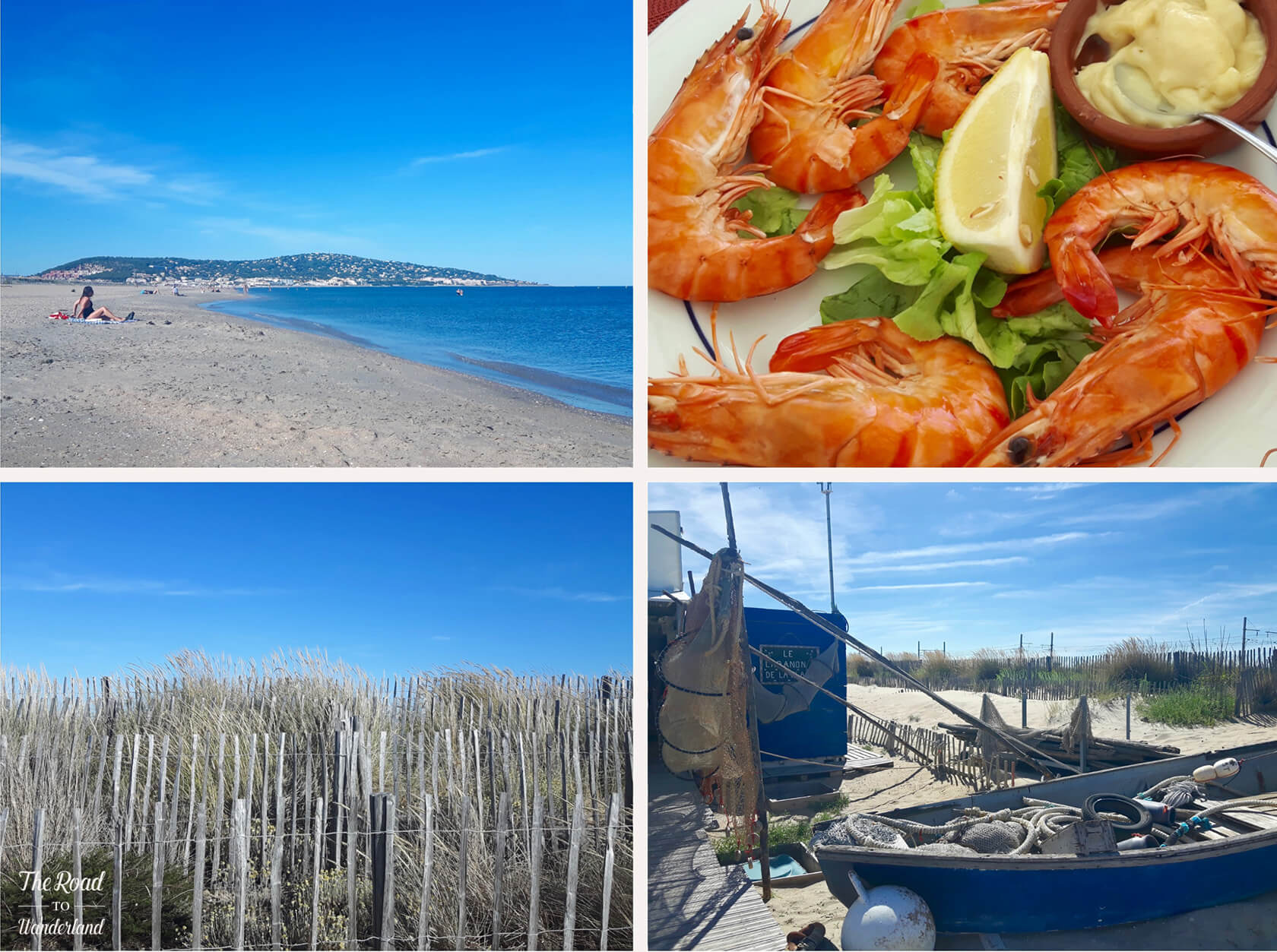 The beaches of Sète