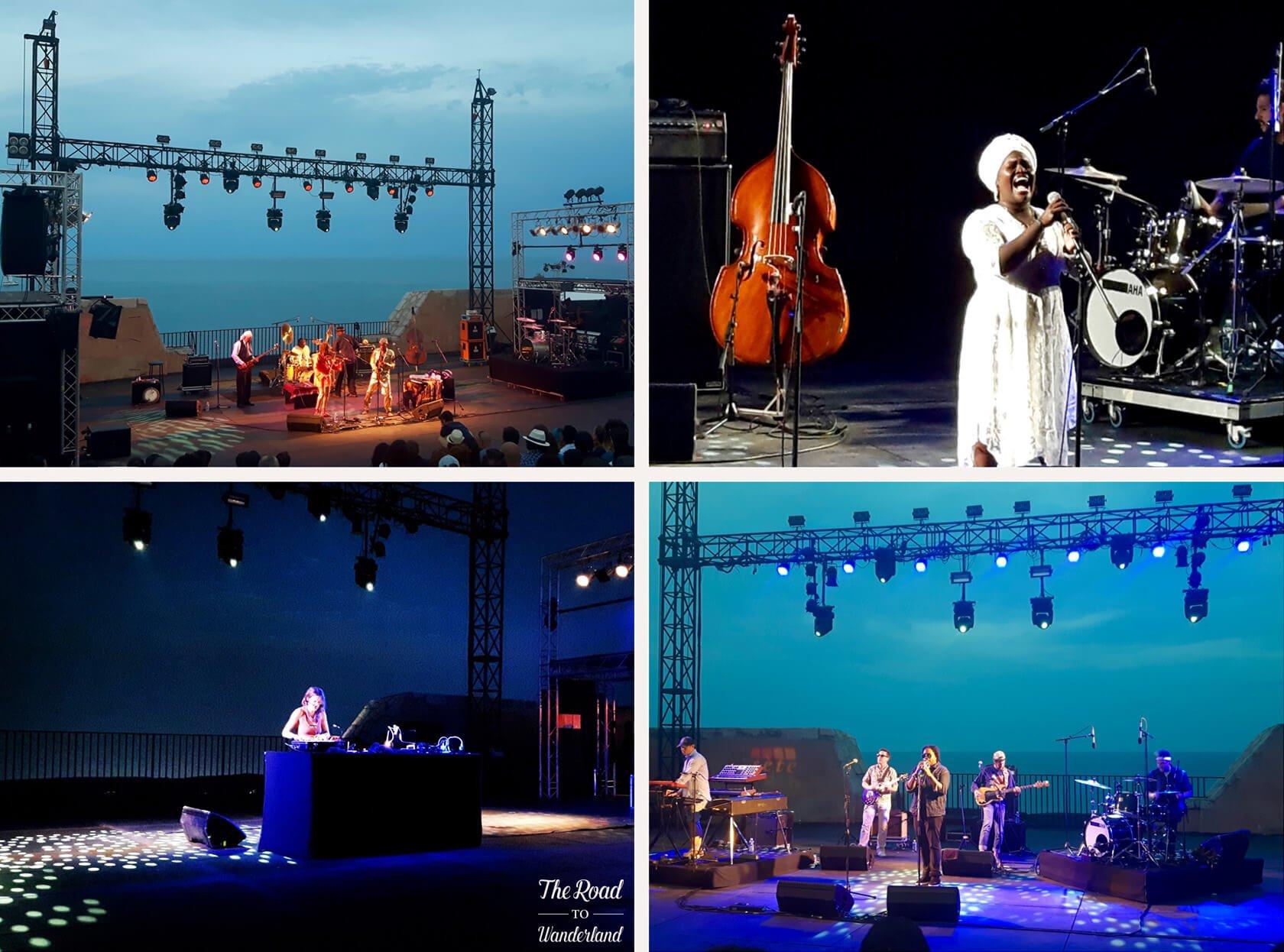 Worldwide Festival, Sète: The music