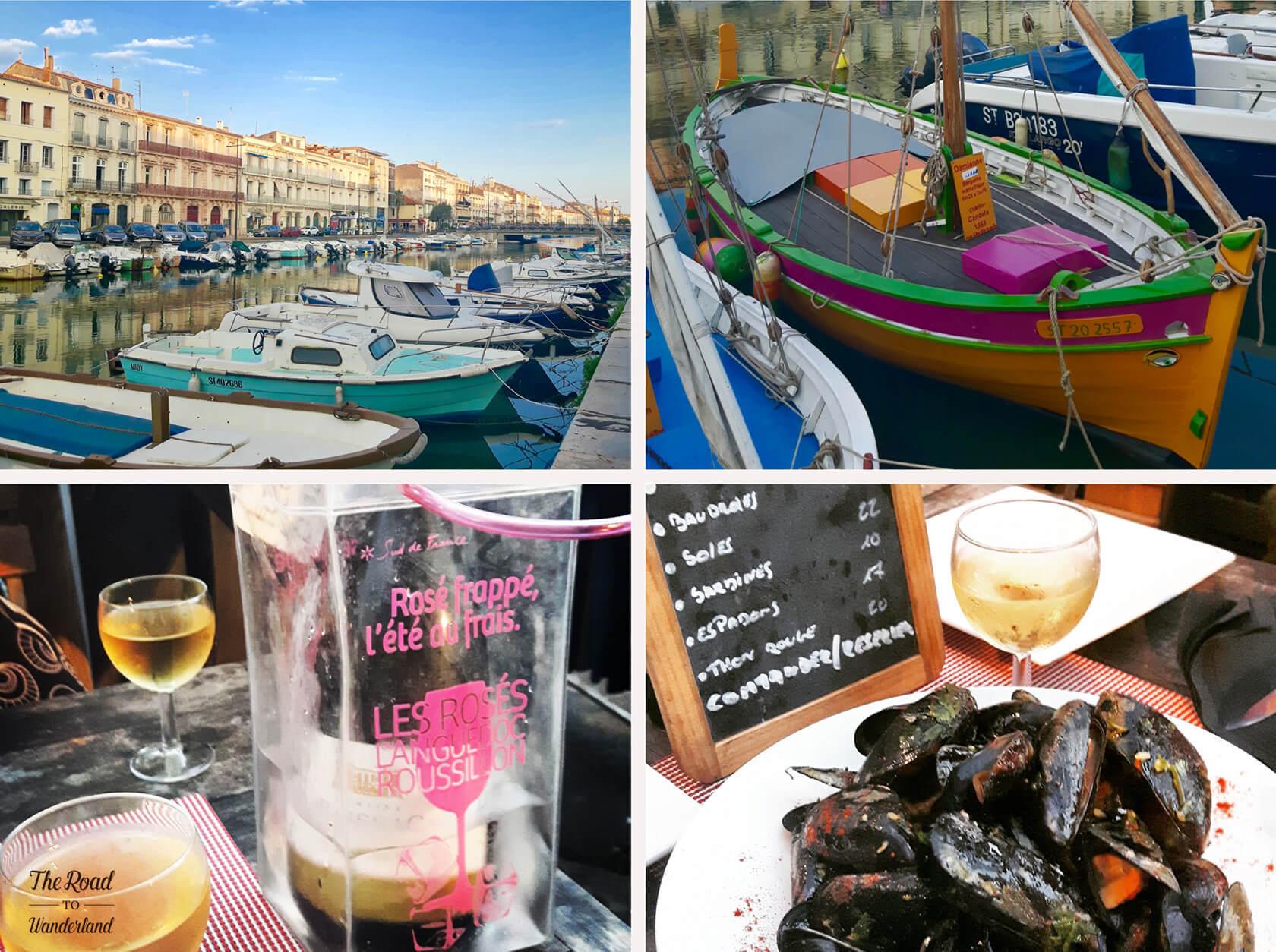Fishing boats & seafood