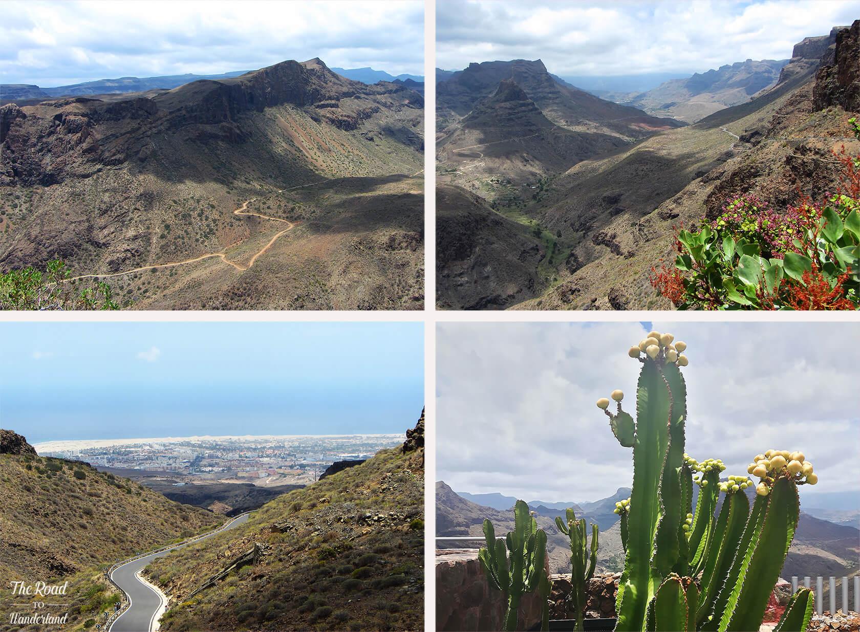 Landscapes of Gran Canaria: Mirador Degollada de la Yegua