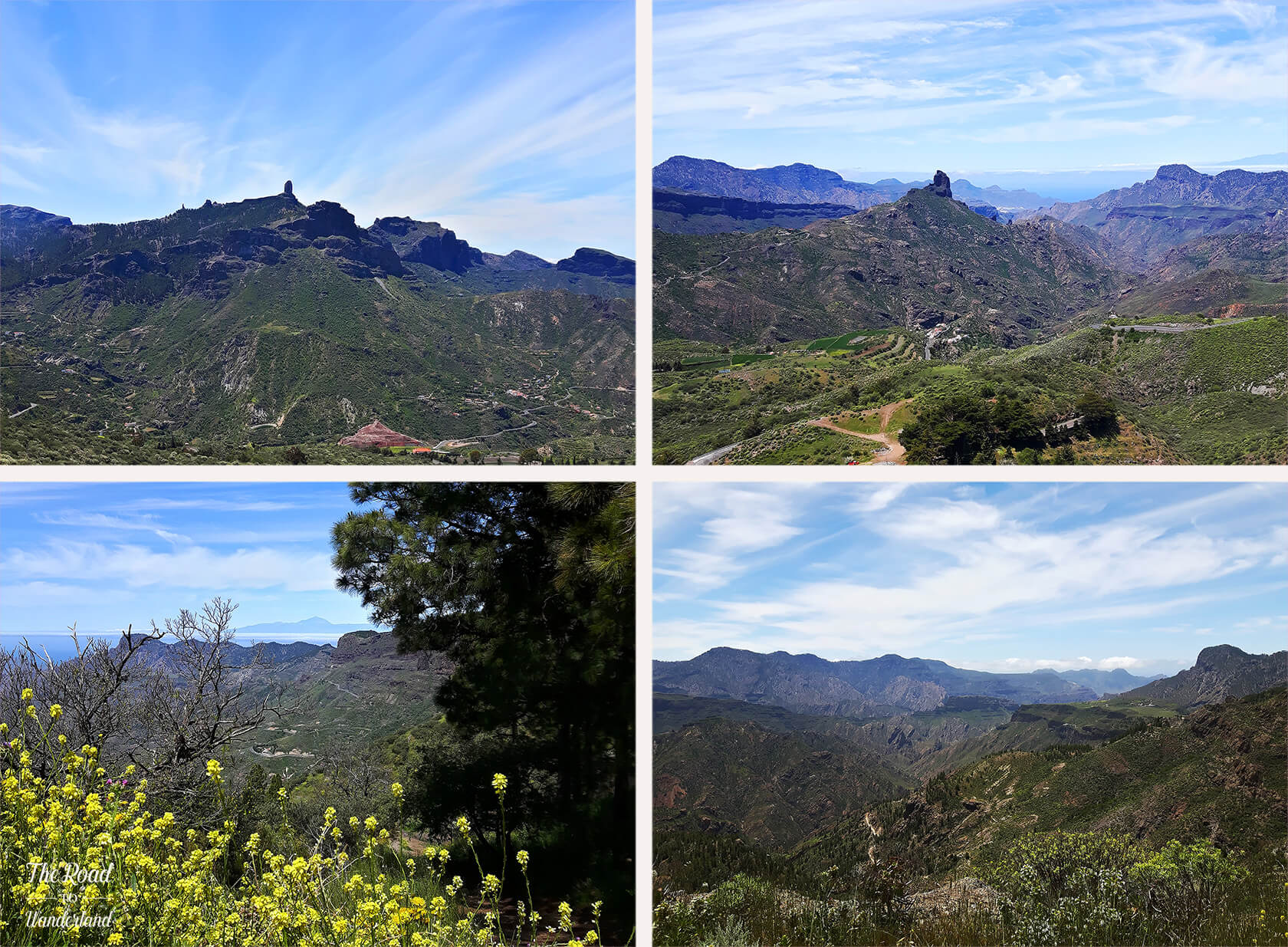 Landscapes of Gran Canaria: Roque Nublo & Roque Bentayga