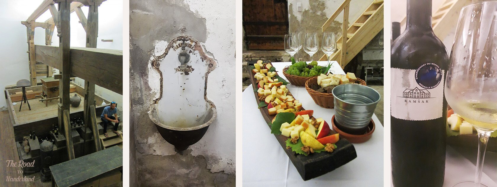 Chateau Ramšak wine tasting
