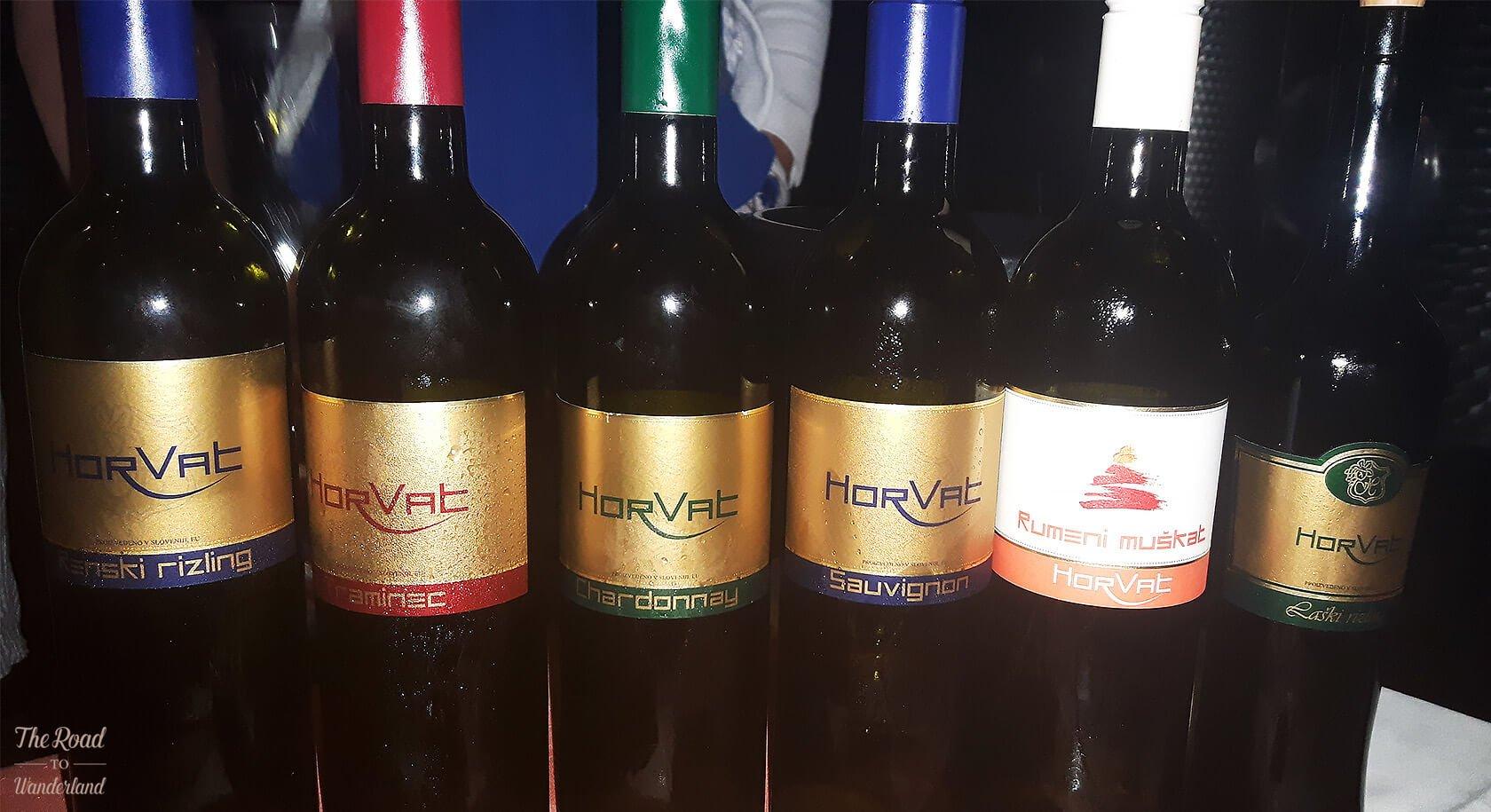 Vinogradi Horvat wine tasting
