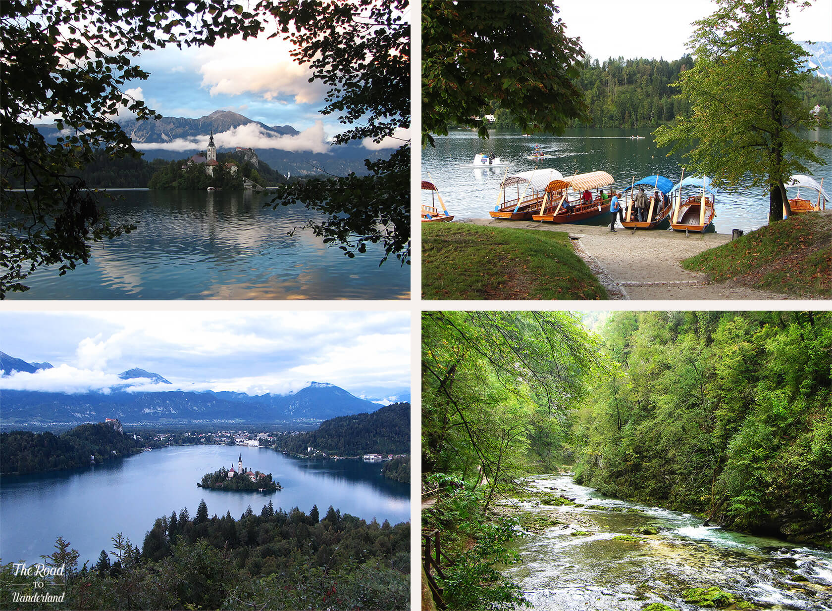 Review of 2016: Beautiful Lake Bled in Slovenia