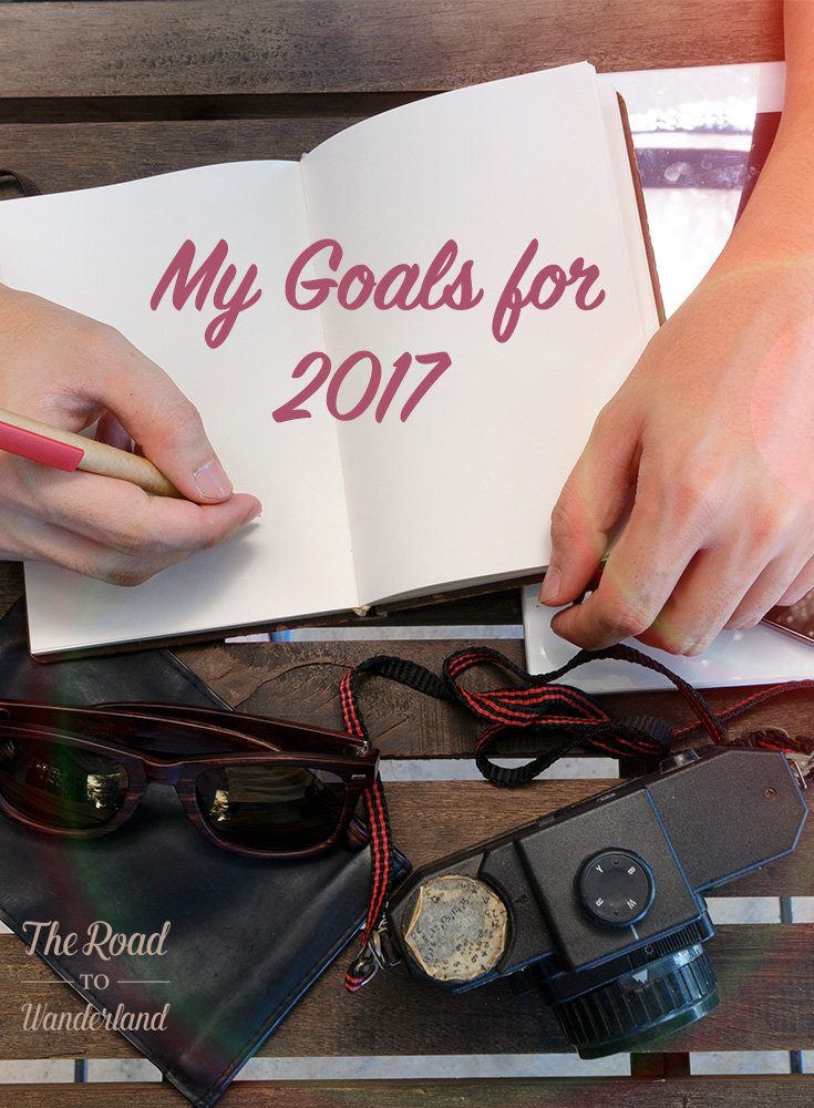 My Goals for 2017 Pinterest Image
