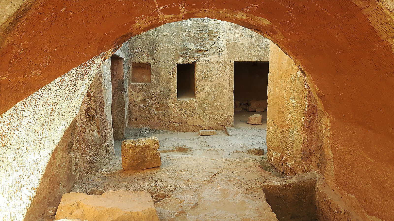 Tomb 8, Tomb of the Kings, Paphos