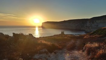 Photo Essay: Xlendi Cliffs