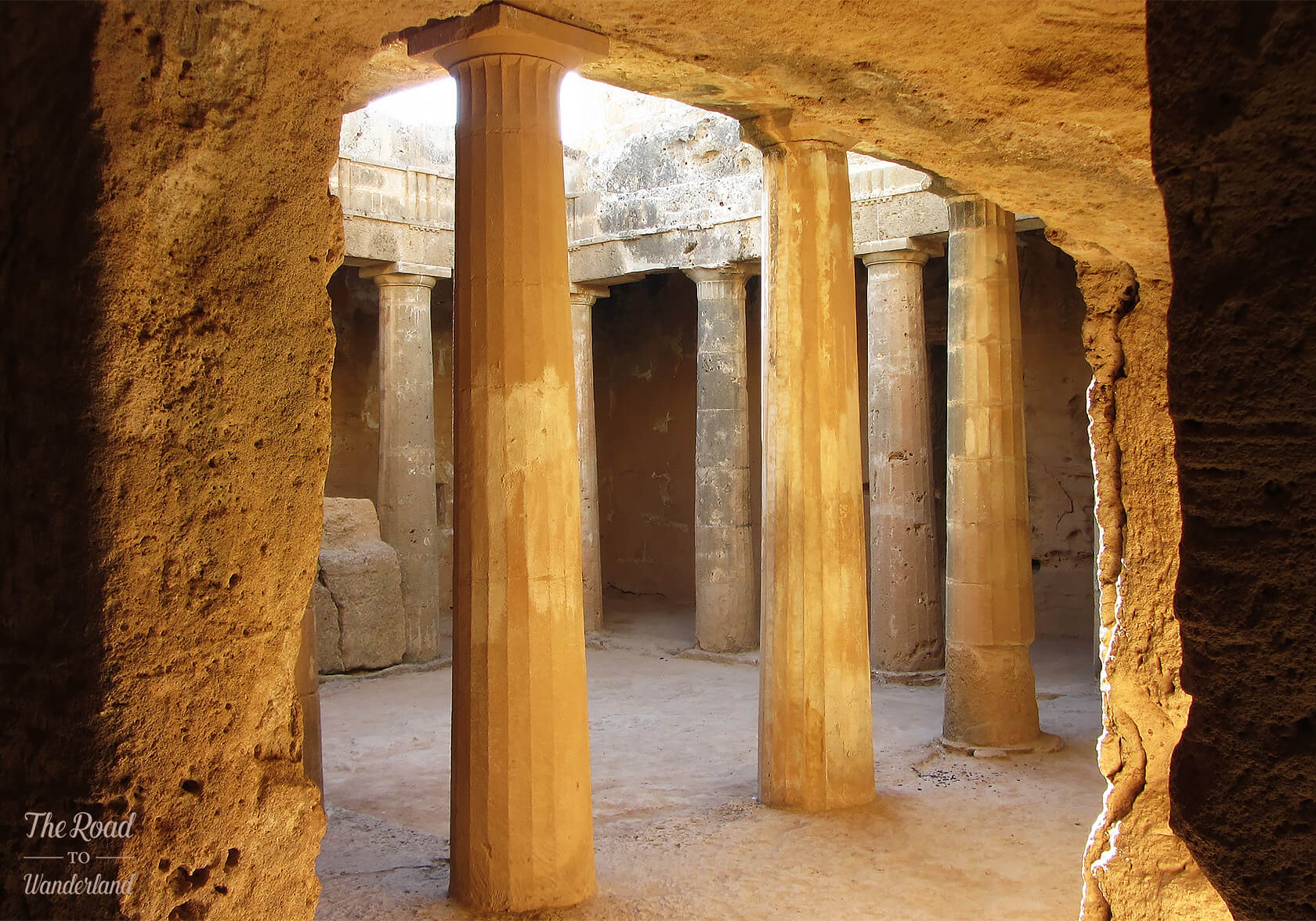 Tomb 3, Tombs of the Kings, Paphos