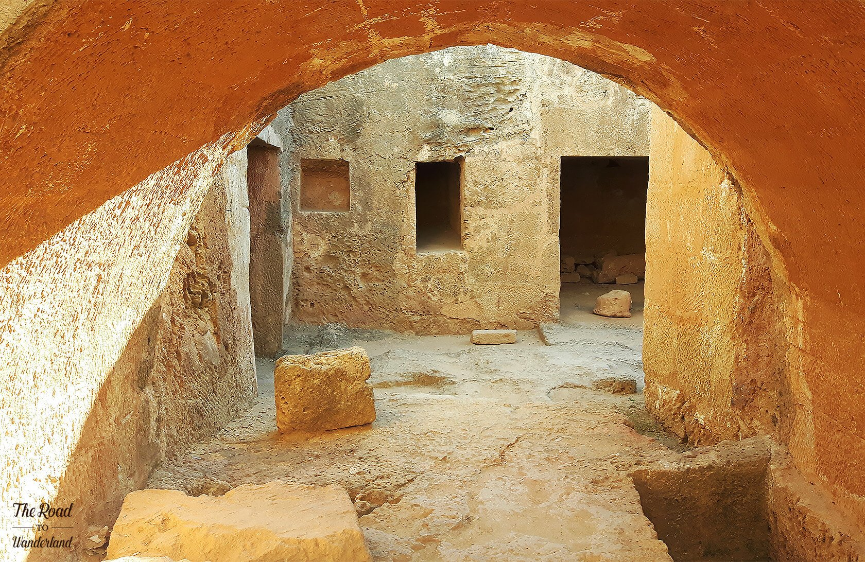 Tombs 8, Tombs of the Kings, Paphos