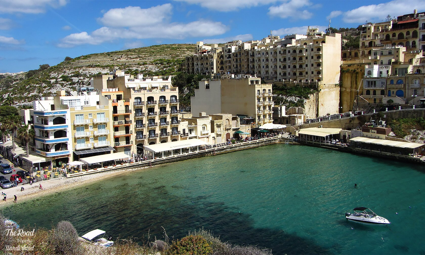 The gorgeous fishing village of Xlendi, Gozo