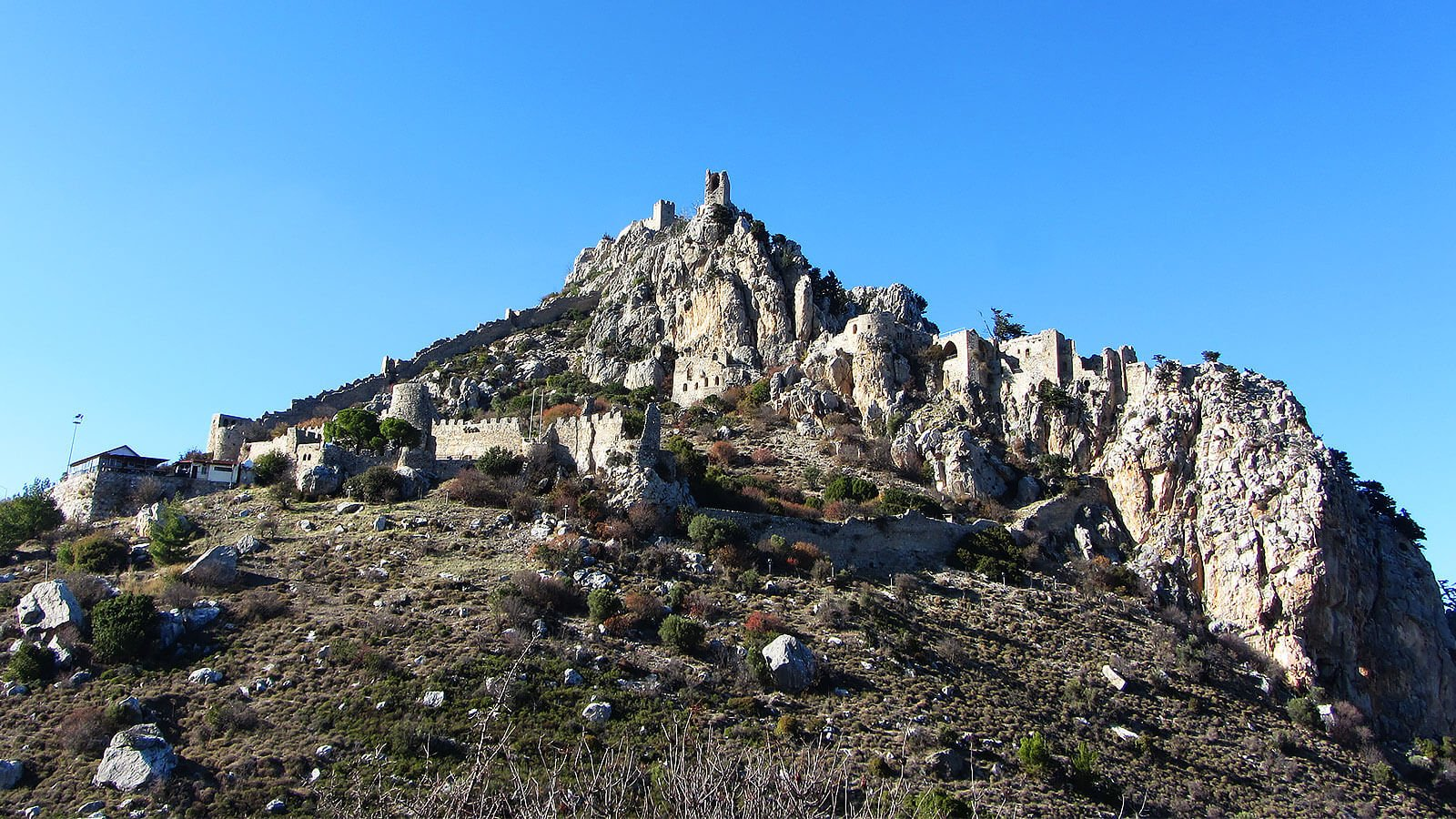St Hilarion Castle, North Cyprus