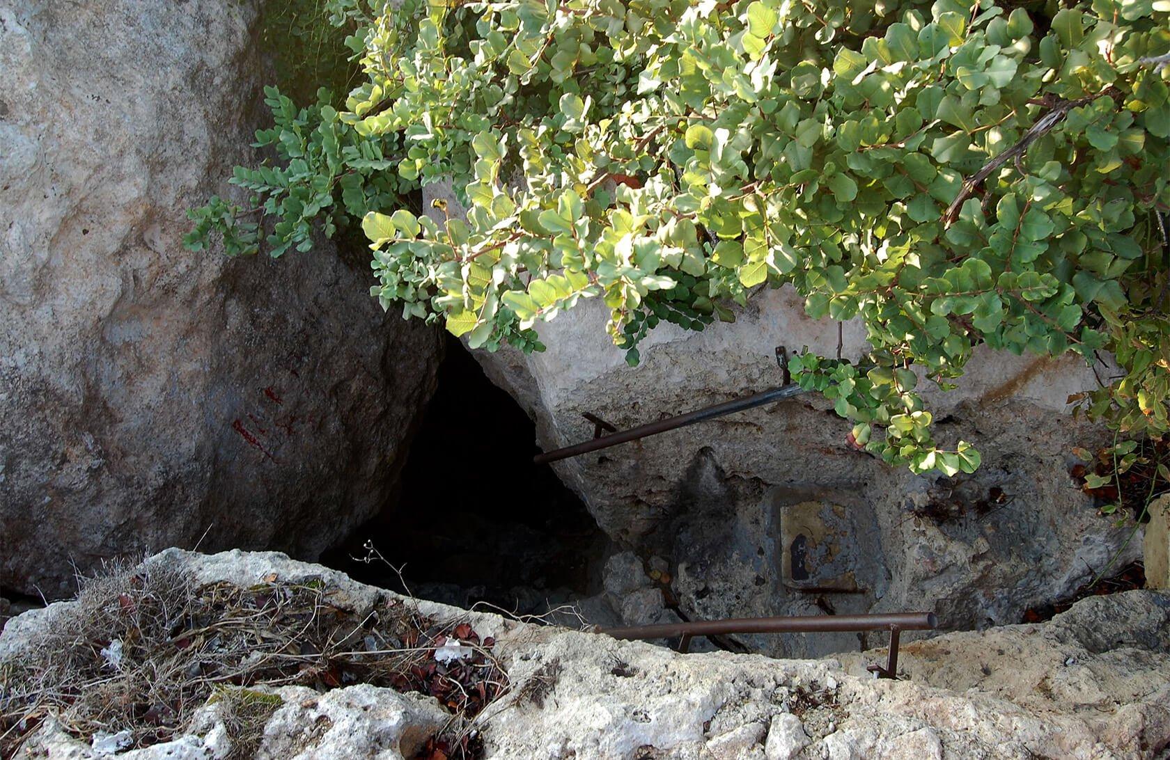 My terrible picture of Calypso's Cave, Gozo