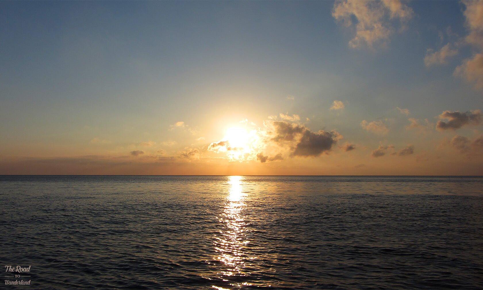 Sunset cruise on Gozo