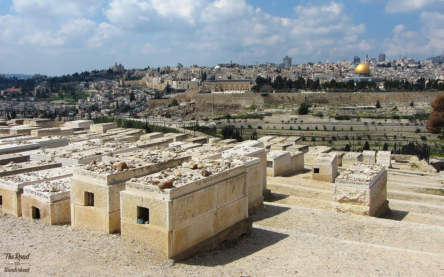 Jewish graveyard on Mount of Olives