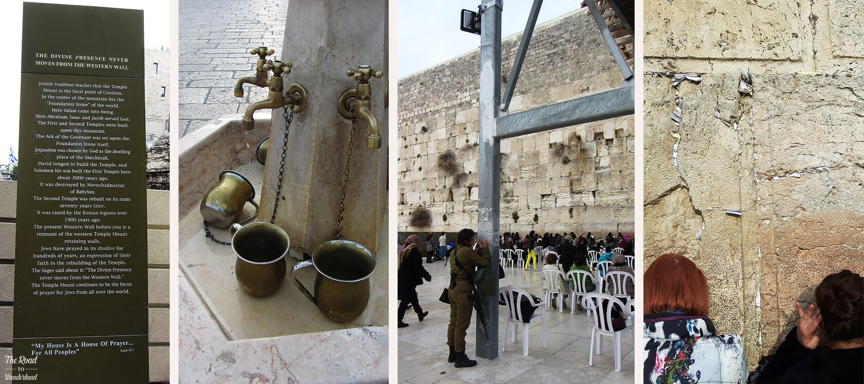 Rituals at the Western Wall