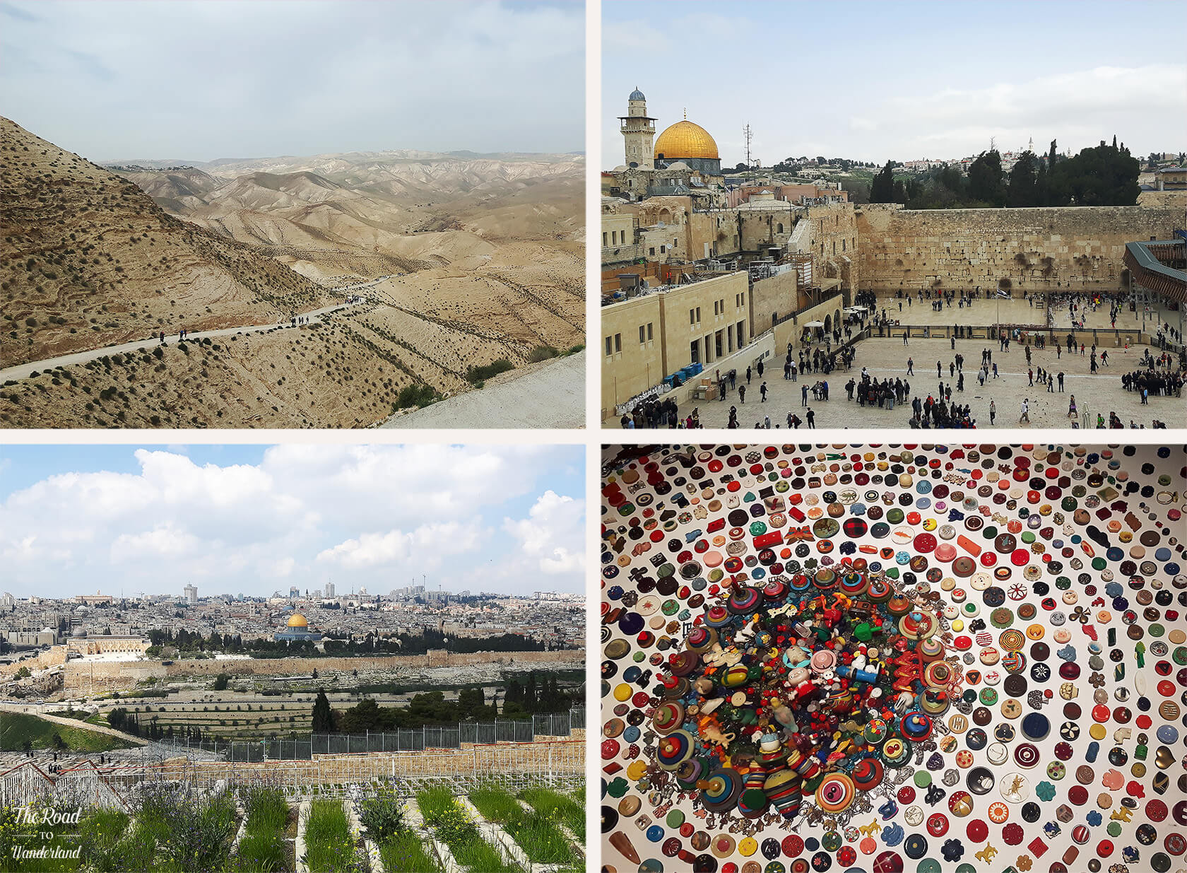 Review of 2017: Pics from Jerusalem & Tel Aviv, Israel