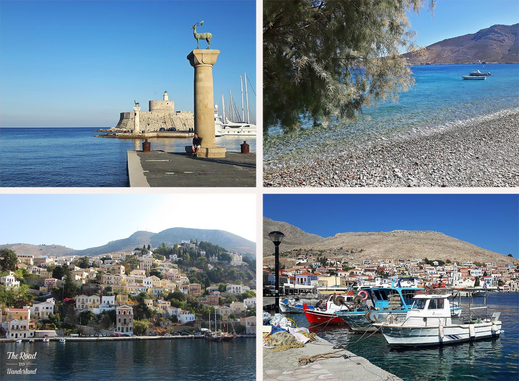 Review of 2017: Pics from Rhodes, Tilos, Halki & Symi, Greece