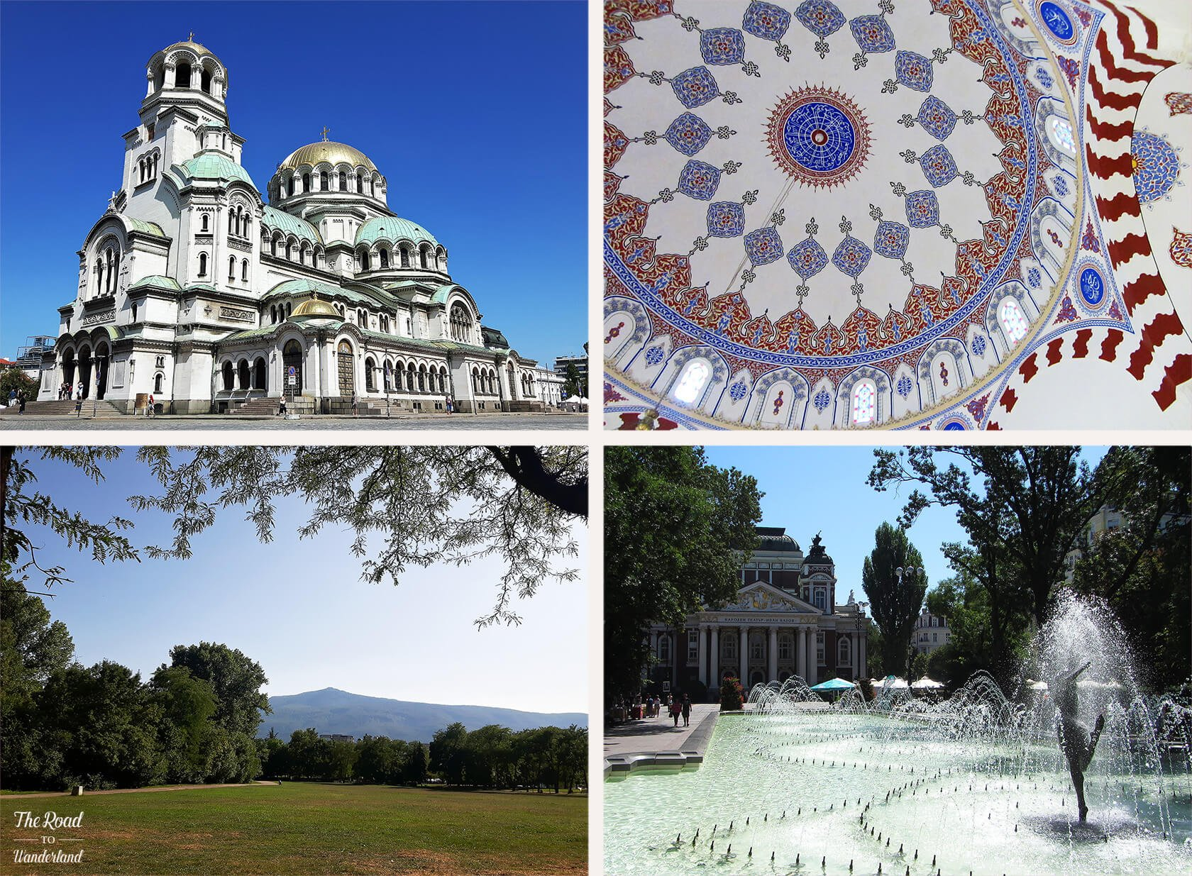 Review of 2017: Pics from Sofia, Bulgaria