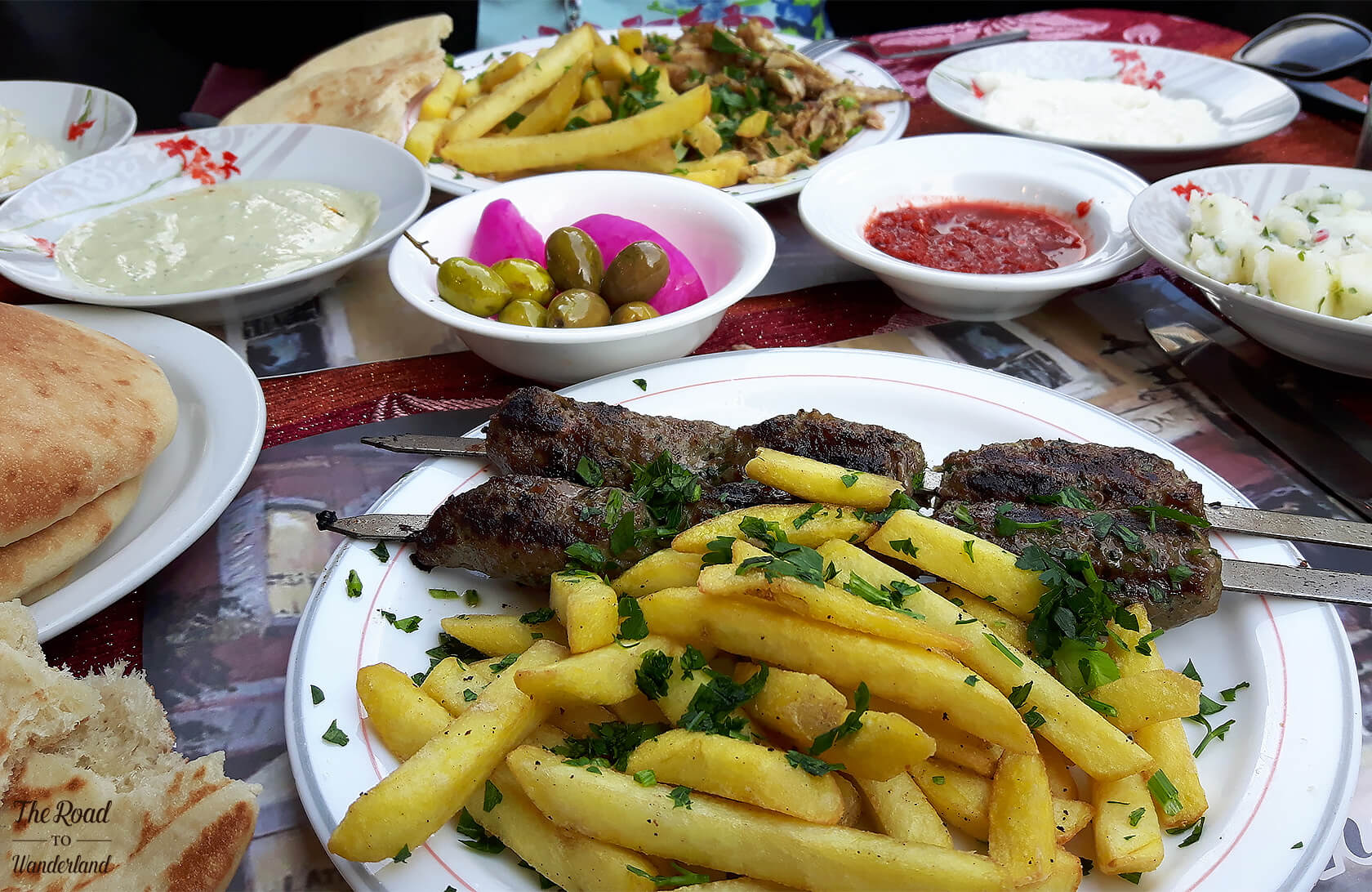 Lunch in Jerusalem