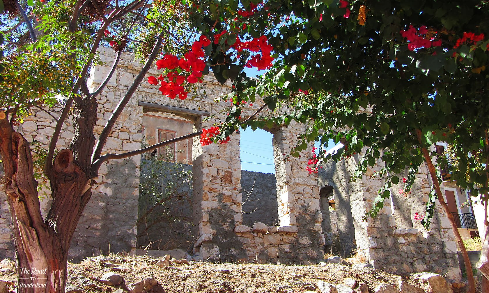 Abandoned building, Halki