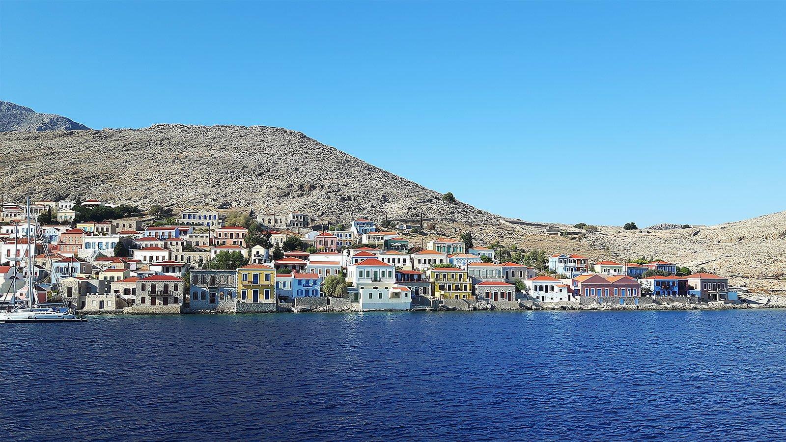 Emborio Harbour, Halki