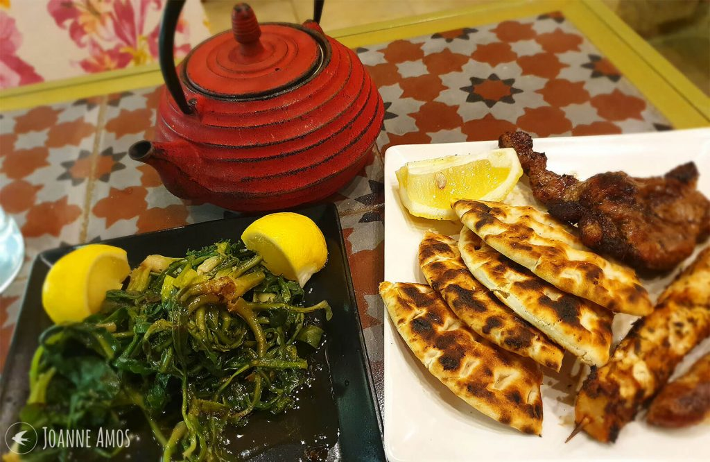 Grill night at Raki Ba Raki, Rethymno