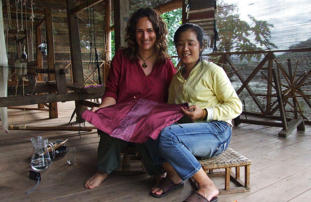 Me at Ock Pop Tok, Laos, in 2009