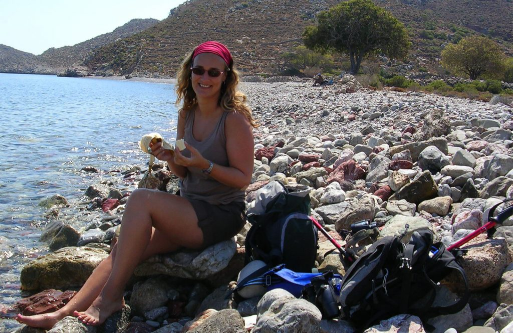 A day off in Tilos, Greece