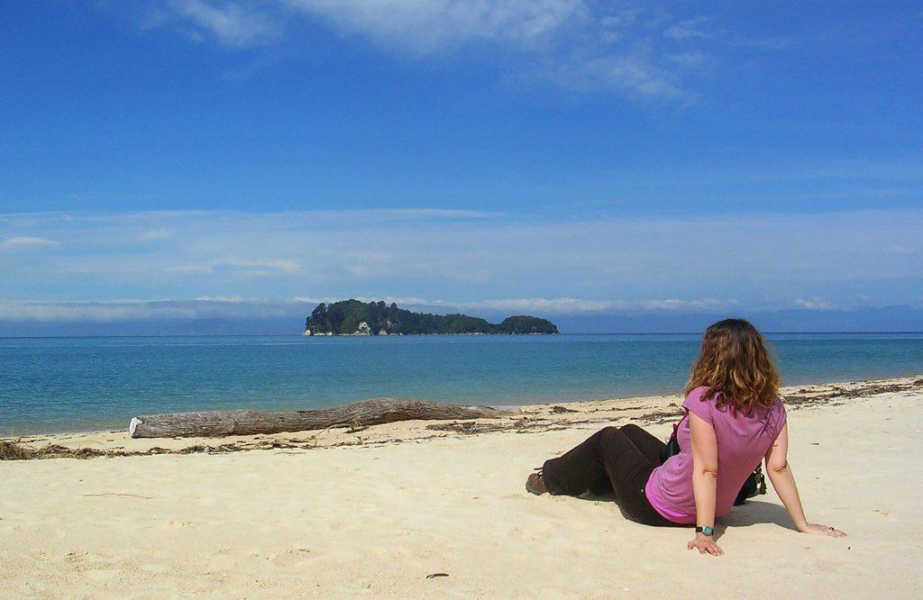 Me at Abel Tasman NP, New Zealand, 2008