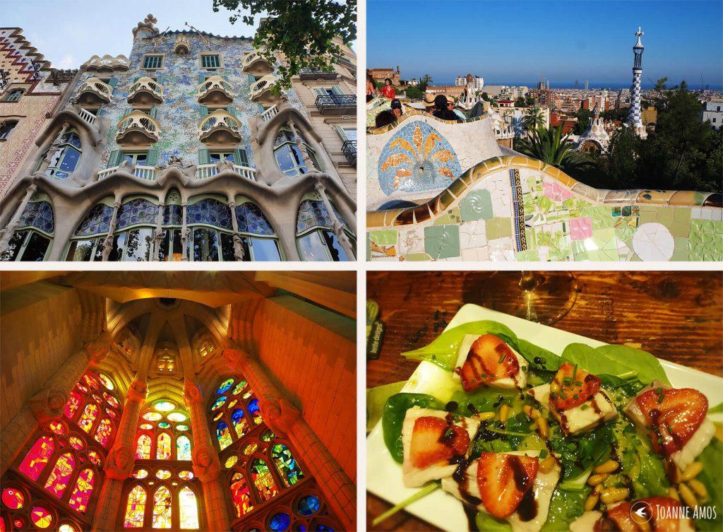 Barcelona 2019: Casa Batlló; Park Güell; tapas; Sagrada Familia